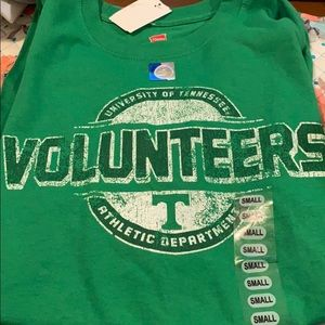 Men's Tennessee fan shirt size small NWT